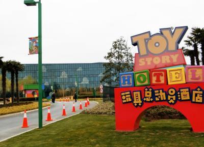 【初めての上海旅行】1日目・トイストーリーホテルとディズニータウン