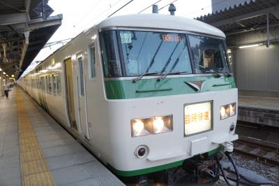 臨時夜行快速「ムーンライトながら」でいく名古屋旅行