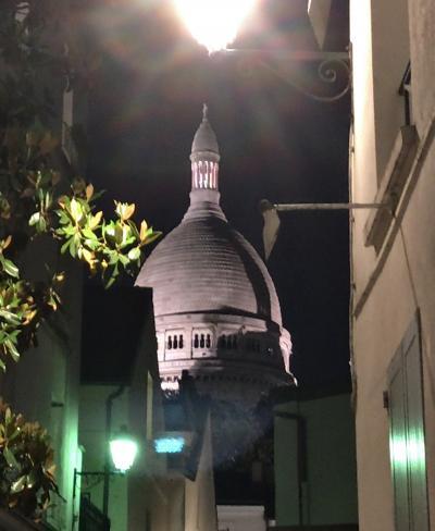 2018年5月 女子友で行く パリの旅 《6》 五日目 モンマルトル 夜