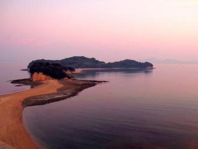 小豆島のベッラ島 エンジェルロード
