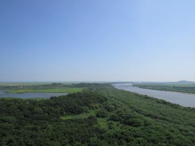 ロシア⇔中国辺境地域(6) 中国・ロシア・北朝鮮の三か国国境!