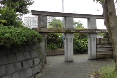 姫小島水門跡