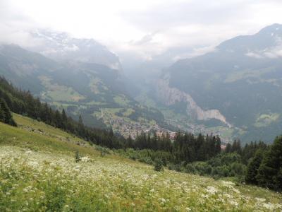 スイス・ユングフラウの旅② ~ヴェンゲン~(雲に覆われた日の楽しみ)