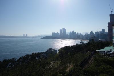 2回目の釜山1日目:海雲台、月見の丘、焼肉など