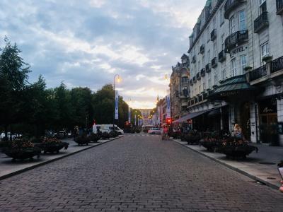 フィヨルドを求め北欧3ヵ国周遊旅 2日目