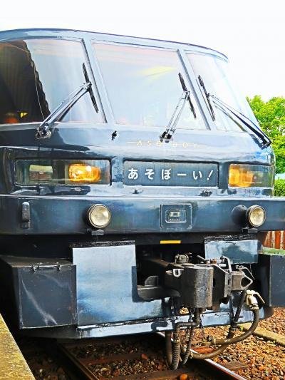 九州34 D&S列車「あそぼーい」団体4両貸切でゆったり ☆遊び心いっぱいの車内