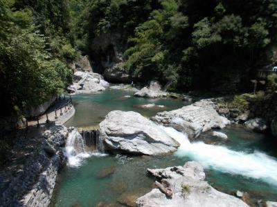 仁淀ブルーへ行こう!その1 中津渓谷 竜宮淵と雨竜の滝