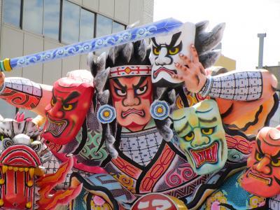 東北三大祭りを巡る旅(その2.青森ねぶた祭)