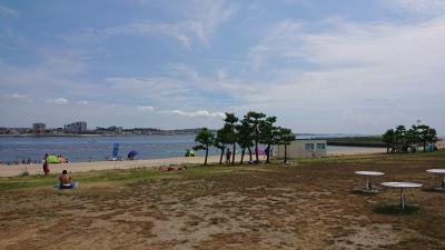 知多半島で海水浴