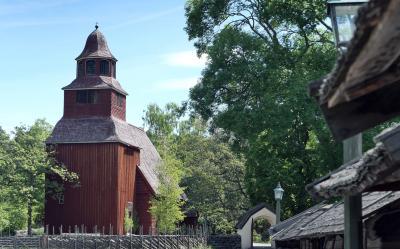 ヴァーサ号博物館と野外博物館スカンセンを体験