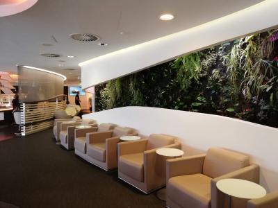 ロンドンヒースロー空港ターミナル4 LHR T4 スカイチーム Sky Team Lounge訪問記