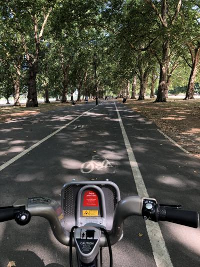 イギリス・ロンドンの旅 2018年7月 その7  (1) またシェア自転車に乗る。