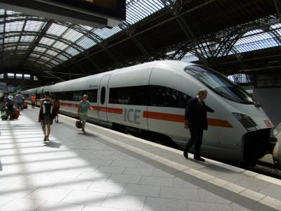 南ドイツ・チェコ・オーストリア国際特急列車の旅:(第1弾:フランクフルト→ライプツィヒ)