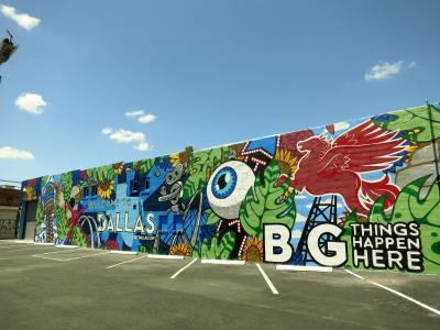 ブエノスアイレスでストリートアート三昧の街歩き♪(経由地ダラスでのストリートアート満喫編)