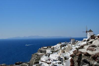 コスタ デリチョーザで巡る、アドリア海、エーゲ海クルーズ・サントリーニ島編