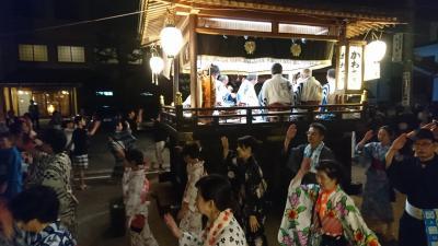 暑い岐阜県で、熱い郡上踊り