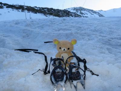 雪山デビュー 安達太良山に行ってくるクマ。