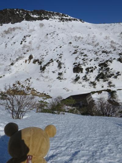 雪山デビュー 安達太良山に行ってくるクマ ②