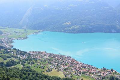 超ド運痴がTRY♪ スイスでちょこっとハイキングの旅 ④ / ・・・蒸気機関車&遊覧船 両方楽しい♪ ブリエンツ