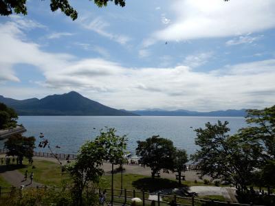家族3人、レンタカーで950km、北海道の名所巡りをしてきました。 4日目最終日 ウィンザーホテル洞爺からレークヒルファーム、支笏湖、新千歳空港まで