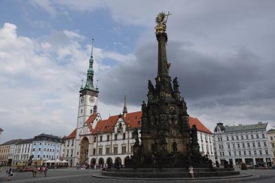 チェコ旅行6:オロモウツ(世界遺産)