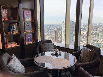リッツカールトン東京 クラブ・タワー・デラックスルーム④ラウンジ朝食とチェックアウトまで