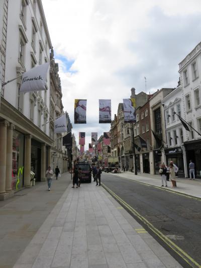 英国旅行記2018 ロンドン街歩き シティ~ピカデリー・ソーホー・メイフェア