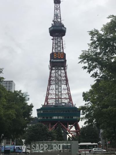 真夏の北海道旅行  最後の日は札幌市内散策です!