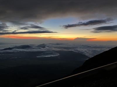 富士山初登山 リタイアと御来光