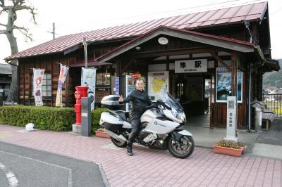 隼駅と白兎海岸・・・バイク人ラリー帳の旅