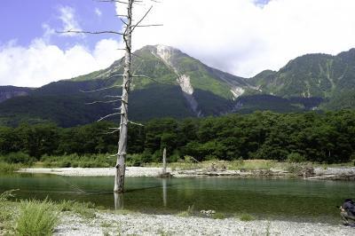 カメラ片手に、上高地と高山を歩く3日間 2日目の午前中は大正池を目指します  ほか