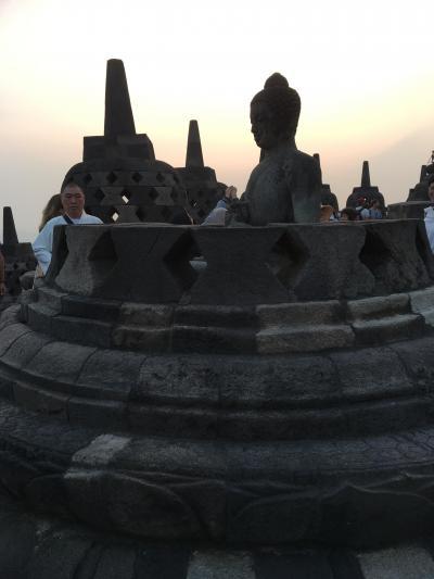 避暑地インドネシアへ~7月31日(火)、ボロブドゥール遺跡のサンライズはゾクゾクとするくらい良かった。~
