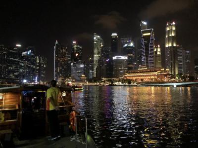 夜景見ながら帰りましょ♪また乗っちゃった、リバークルーズ ジャカルタ・シンガポール2018の旅7-3