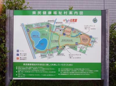 病みあがりの早朝散歩 @ 健康福祉村 (2018.08.11~12)
