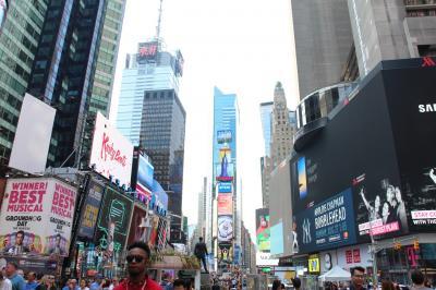 周遊*アメリカ 2日目 ニューヨーク、マンハッタン&ブルックリン
