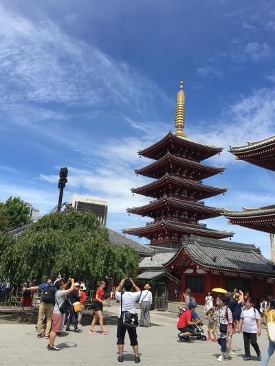 浅草寺をお参りしに行ってきました!