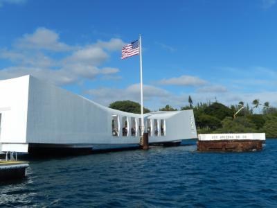 2018 Hawaiiの旅(2)アリゾナ記念館