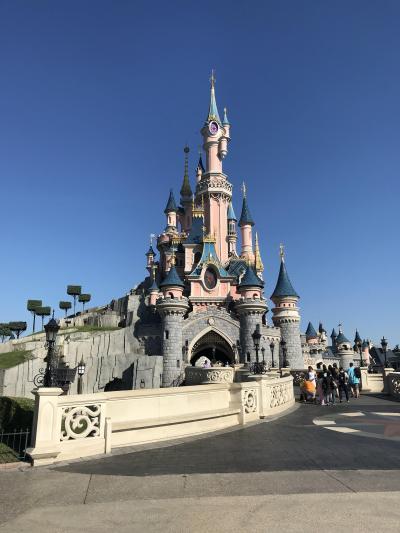 子連れ旅行 フランス・パリ2 その3 娘には前日まで内緒、ディズニーランド パリへ行くのだ。