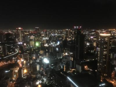 2018年8月 関西旅行 1日目 大阪の夜景を楽しむ