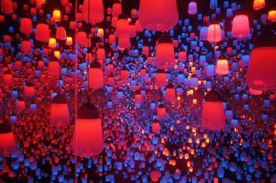 8月の東京へ!≪Part2≫ デジタルアート・ミュージアム・チームラボ・ボーダレスをたっぷり見て楽しんできた!