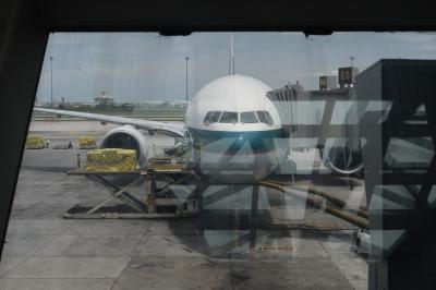 いざバンコク8★娘9か月4度目のタイDay5 とうとう最終日! キャセイパシフィック航空利用 バンコクから香港へ