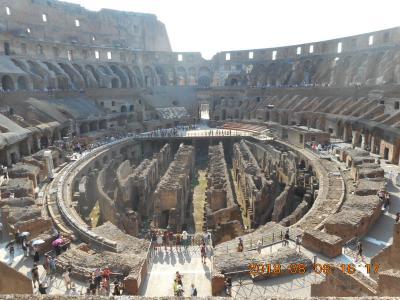 2018年8月 イタリア旅行1 ローマ