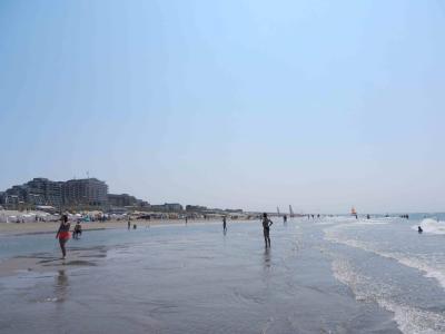 夏は海だ!海水浴だ!オランダの有名海水浴場  ノールトウェイク Noordwijk
