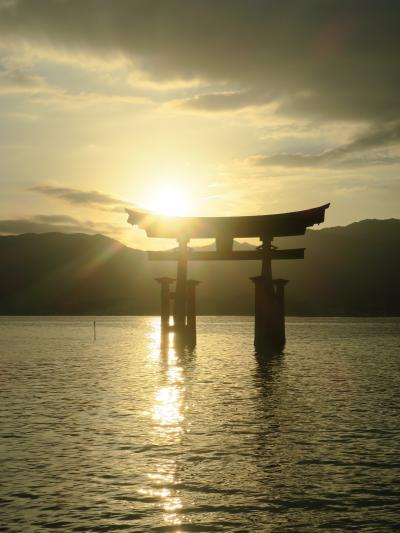 2018 厳島神社は閉まってしまいましたが、せっかくなので宮島散策