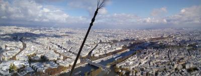 ようやく妻をパリに連れて行くことができた