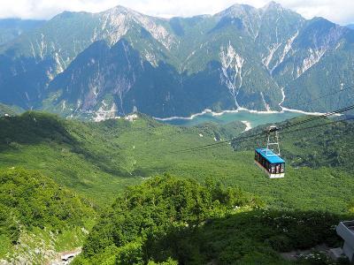 立山黒部アルペンルート&上高地の旅(1日目)