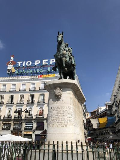 [バルセロナ・トレド・マドリッド・パリ個人旅行]⑭ マドリッドで王宮・市場・美術館+マッシュルームを食す