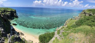 初の夏の与那国島