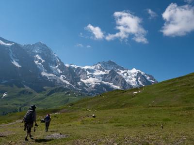 スイス頑張らない紀行(2)メンリヒェンの山荘