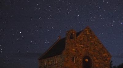 テカポの星空,8月15日の夜から16日の早朝